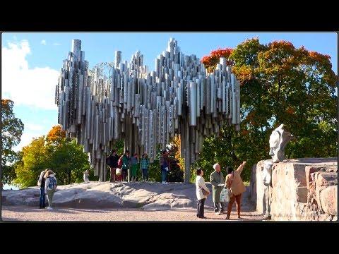 SIBELIUS MONUMENT, Helsinki  •  Sibelius-monumentti  (4K orig.)