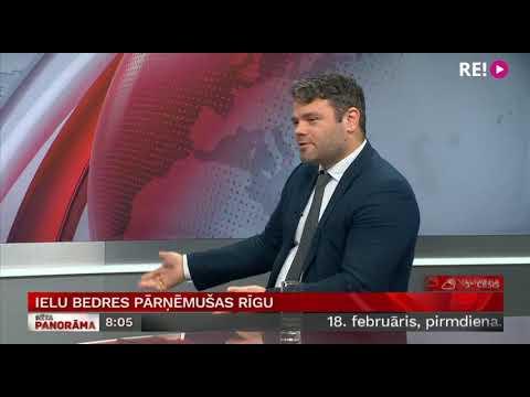 Ielu bedres pārņēmušas Rīgu. Intervija ar Emilu Jakrinu.
