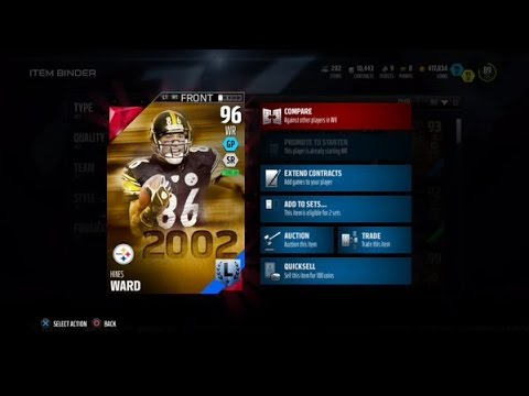 Madden 16 Legend Hines Ward review