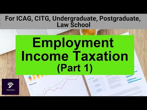 Employment Income Taxation (Part 1) || Taxation in Ghana
