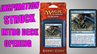 MTG Inspiration Struck Born Of The Gods Intro Deck Opening