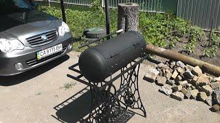 DIY Самодельный мангал для барбекю и шашлыка из газового баллона !(, 2016-06-06T14:05:29.000Z)