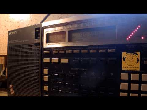 22 11 2014 IRRS Shortwave relay Radio City in German to WeEu 0956 on 9510 Tiganesti