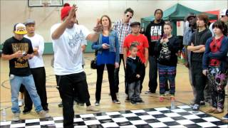 Boppin Andre vs Boogie Frantick (FINAL Battle) @ The GR818ERS Flava Of The Month (Feb 2013)