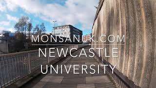 【もんさんイギリス大学留学日記】イギリス・ニューカッスル大学ってこんなところ!Newcastle University