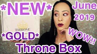 WHOA!!!!! *NEW* Throne Beauty Box.... full sized beauty products!