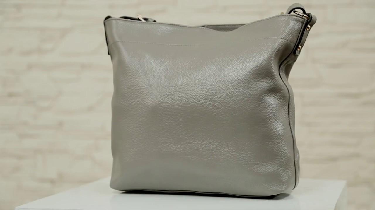Женская сумка шоппер из натуральной кожи — Choosl - YouTube