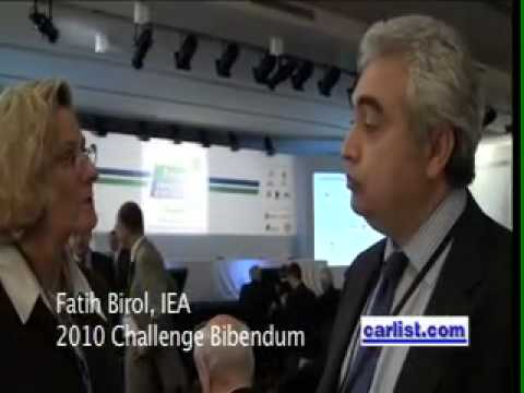 Dr. Fatih Birol, Chief Economist, International Energy Agency