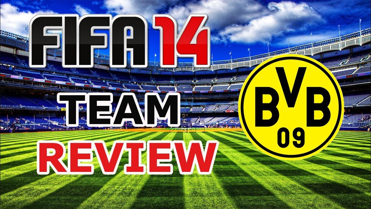 fifa 14 borussia dortmund team review best lineup key players gameplay advices youtube. Black Bedroom Furniture Sets. Home Design Ideas