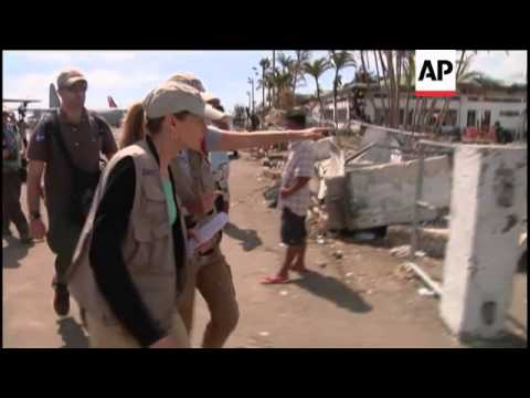 US official pledges further aid for typhoon victims, US and Australian troops continue efforts