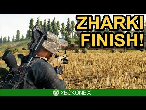 PUBG / ZHARKI FINISH! / Xbox One X
