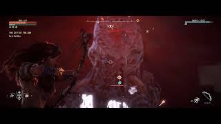 Horizon Zero Dawn PC Killing The Rockbreaker - Blood On Stone