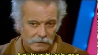 Brassens con Charles Aznavour - Les amoureux des bancs publics (Subt)