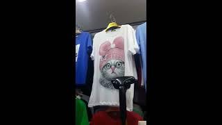 Видео Обзор контейнера с женской одеждой. Распродажа футболок от 100 сом.