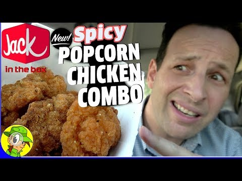Jack In The Box® | SPICY POPCORN CHICKEN COMBO Review 🔥🍿🐔 | Peep THIS Out! 🕵️♂️