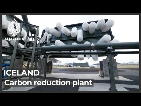 Iceland's plant that turns carbon dioxide into stone
