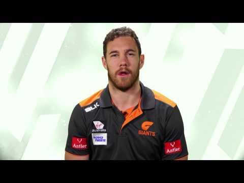 Groupon gets to know GWS GIANTS ruckman Shane Mumford