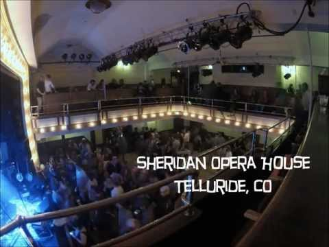 Leftover Salmon - Sheridan Opera House - Telluride, CO