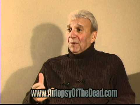 Bill Cardille AUTOPSY of the DEAD Deleted Interview Clips Day Of The Dead George Romero