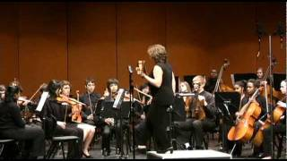 Huron Philharmonic Orchestra plays Handel: Rigaudon I and II from Water Music, Suite No. 3