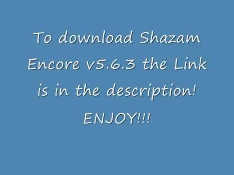 Shazam Encore v5.6.3 APK Download
