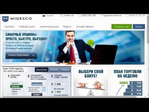 """Обзор брокера """"Migesco.com"""""""