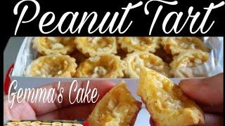 Peanut Tart by Gemma&#39s Cake (Negosyong 100 pesos ang capital)