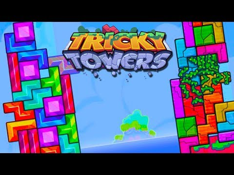 WHY SO FAST! - Tricky Towers with Crew!