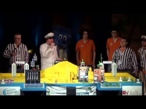 2016 - ESEO ANGERS 199 vs 111 Quercy Bot - Coupe de France Robotique 2016