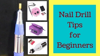 How to use  an Electric Nail Drill (Tutorial)