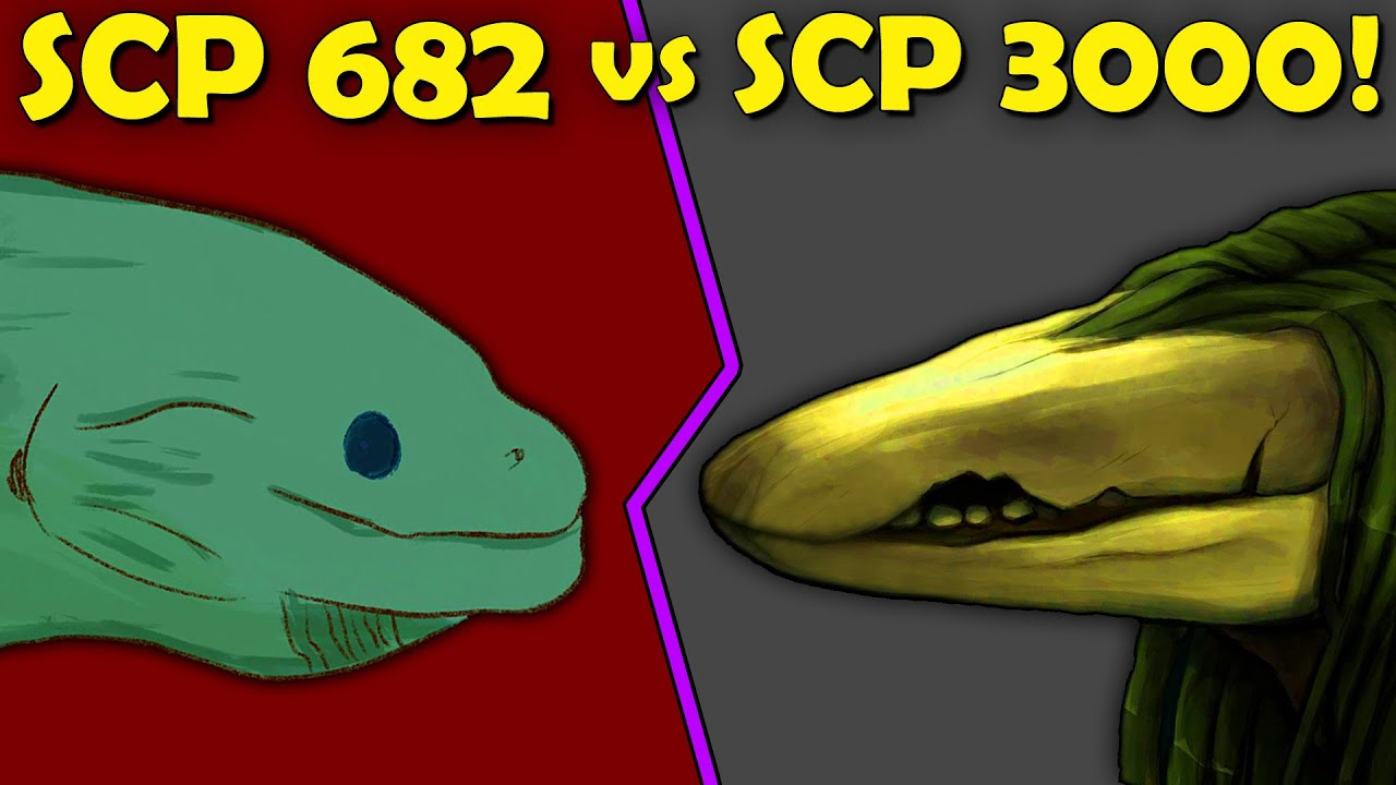 What If SCP 682 Fought SCP 3000?