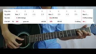 [Guitar đệm hát cơ bản - Bài 2] Vừa đàn guitar vừa hát điệu Ballad nhịp 4/4
