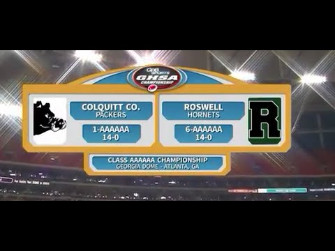 Colquitt Co. vs. Roswell