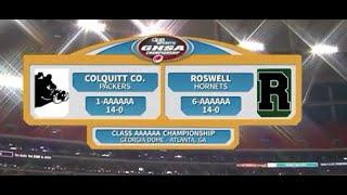 Colquitt Co. vs. Roswell 2015