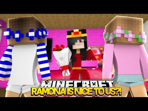 Minecraft Royal Family : RAMONA IS NICE TO US?! w/LittleKellyandLittleCarly (Roleplay)