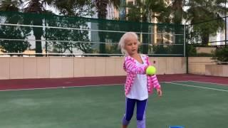 🎾 Занятия теннисом 👧 для детей(, 2017-02-15T20:26:46.000Z)