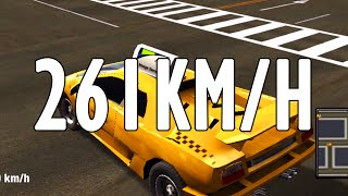 RECORD TOP SPEED 261KM/H | New York Taxi Simulator | HD