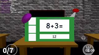Roblox baldis basics in education and learning /Baldi got stuck\