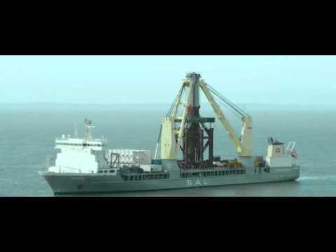 SAL Offshore: MV Svenja, Installing Gas Platform