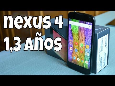 Nexus 4 // 1,3 años después