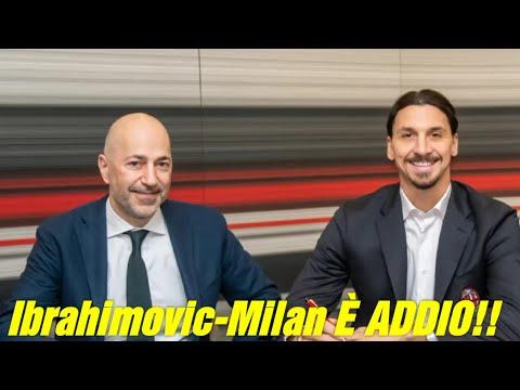 """BYE BYE!! ZLATAN IBRAHIMOVIC LASCERÀ IL MILAN!! Fonte: """"La Gazzetta Dello Sport"""""""