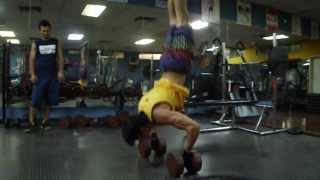Street Workout (Falcon-Venezuela) RETO BARRAS en el gym, Commander hspu