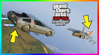 GTA Online - How To Get The Deluxo To Go Faster Than A Hydra Jet - Flying Car Hyper Speed Trick!