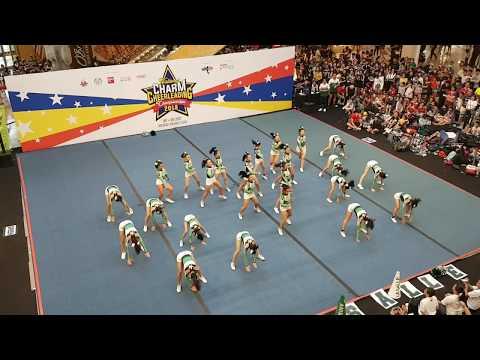 De La Salle Zobel @ CHARM Cheerleading Championships 2018 _ Day2