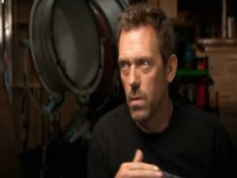 Hugh Laurie in Blackadder documentary