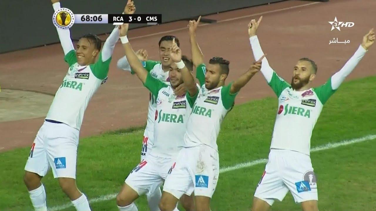أهداف مباراة الرجاء البيضاوي 5-0 سيركل مبيري الغابوني | كأس الاتحاد الأفريقي 2018/19 ذهاب دور الـ32