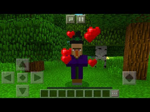 How To Breed WITCH in Minecraft Pocket Edition (WITCH Breeding Addon)
