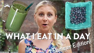 HAUL | What I Eat in a Day, Summer Edition!
