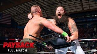 FULL MATCH - John Cena vs. Bray Wyatt - Last Man Standing Match: WWE Payback 2014