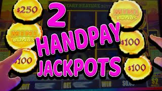 The MINI JACKPOT is MASSIVE in New Dragon Link! 2 Handpays!